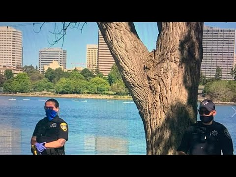 Oakland: Fake Body Bag And Hangman Noose Found At Lake Merritt On Lakeshore Side Thursday Morning