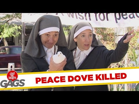 Throwing Doves for Peace FAIL