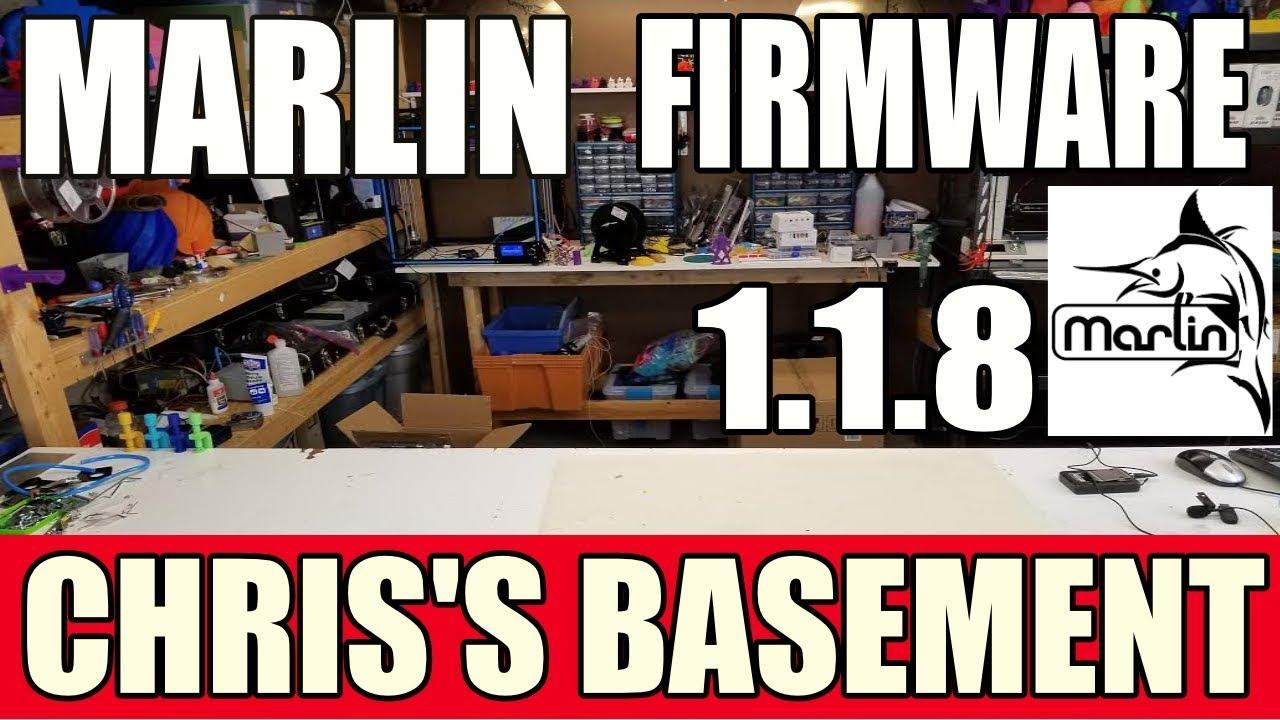 Marlin v1 1 8 3D Printer Firmware Complete Config - 2018 - Chris's Basement