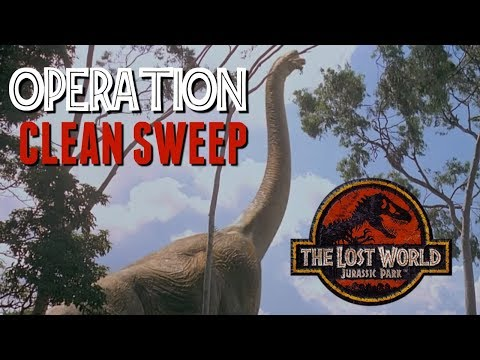 InGen's Terrible Plan To Kill All The Brachiosaurs - What Was Operation Clean Sweep? - Jurassic Lore