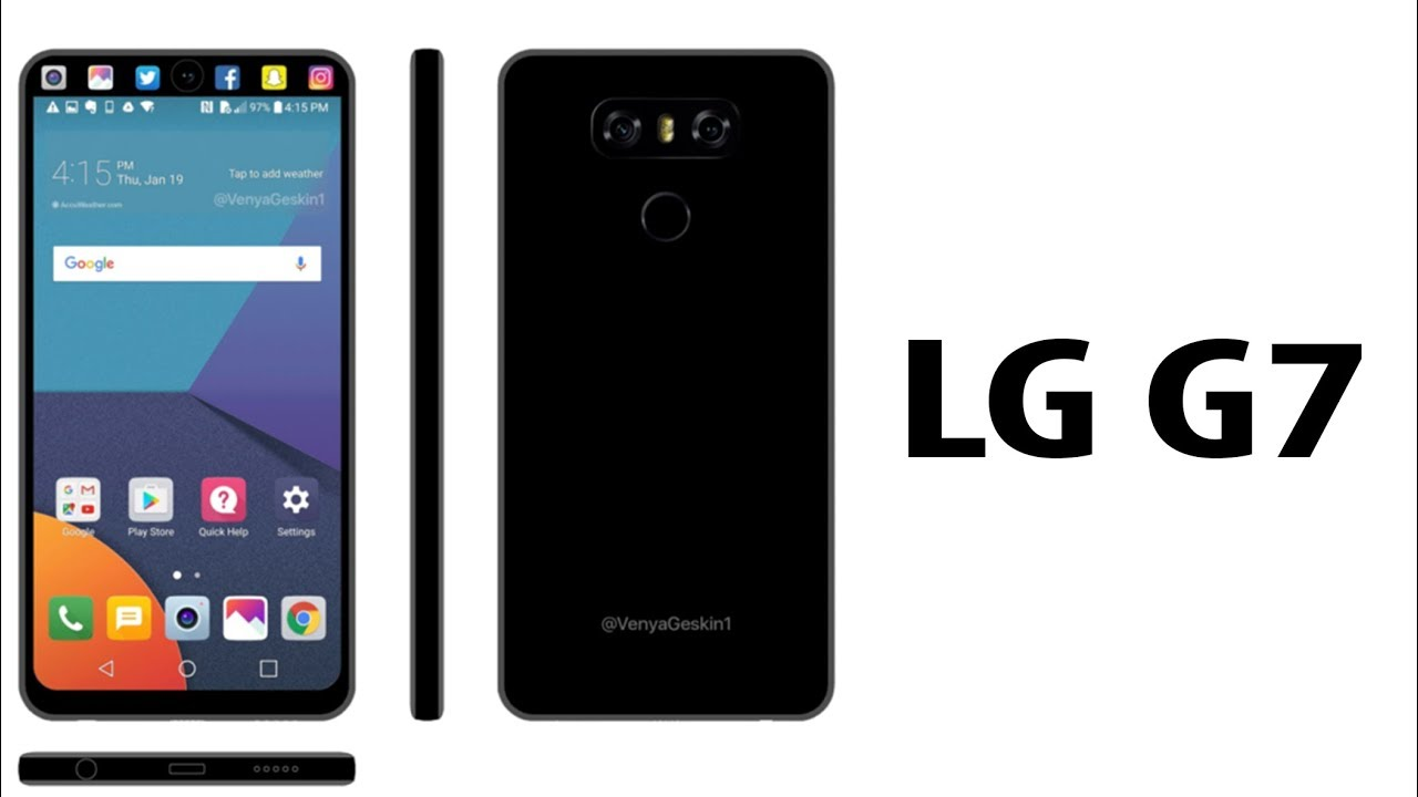 lg g7 2018 phone specifications price release date features specs 4k youtube. Black Bedroom Furniture Sets. Home Design Ideas