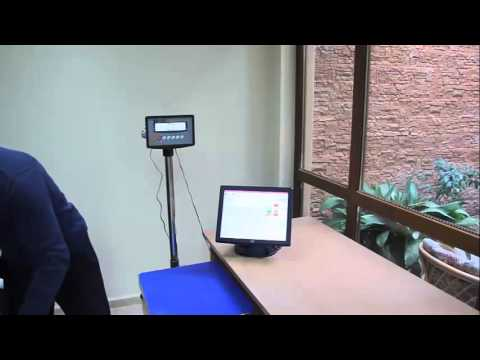 Работа на Microinvest Склад Pro Търговски Обект и платформена везна Elicom EEP