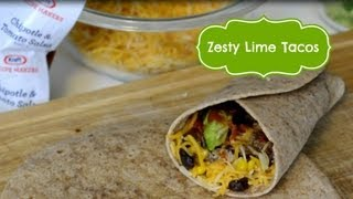 Quick Family Meal Recipe: Zesty Lime Taco Using Kraft Recipe Makers