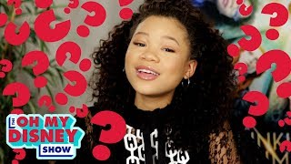 "Storm Reid From A Wrinkle in Time Takes the ""Which Disney Heroine Are You?"" Quiz 