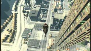 GTA 4 TBoGT Bike + Parachute Stunts