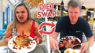 I swapped diets with my BOYFRIEND for 24 HOURS!!!