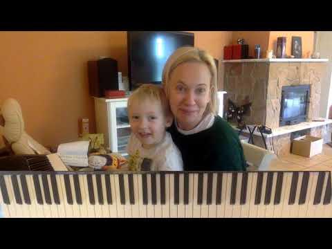 Урок фортепиано для детей 3-5 лет: песенка до-ре-ми