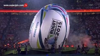 Watch Rugby World Cup 2015 Opening Ceremony  live TV channels