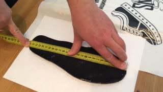 как правильно измерить стопу или стельку и узнать размер свой ноги?!