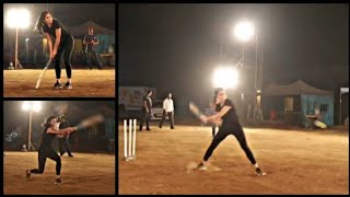 KATRINA KAIF playing🏏 CRICKET ! (after shoot last Sean of BHARAT FILM)