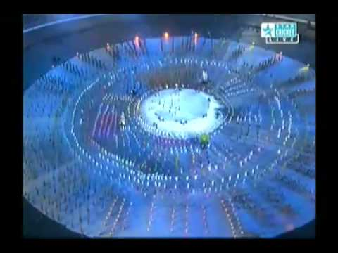 De Ghuma Ke Cricket World Cup 2011 Official Song Live Performance on World Cup 2011 Opening Cermony