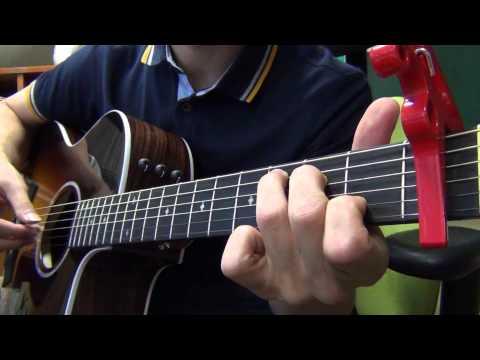 Taeyang (태양) - 눈,코,입 (EYES, NOSE, LIPS) acoustic guitar chords