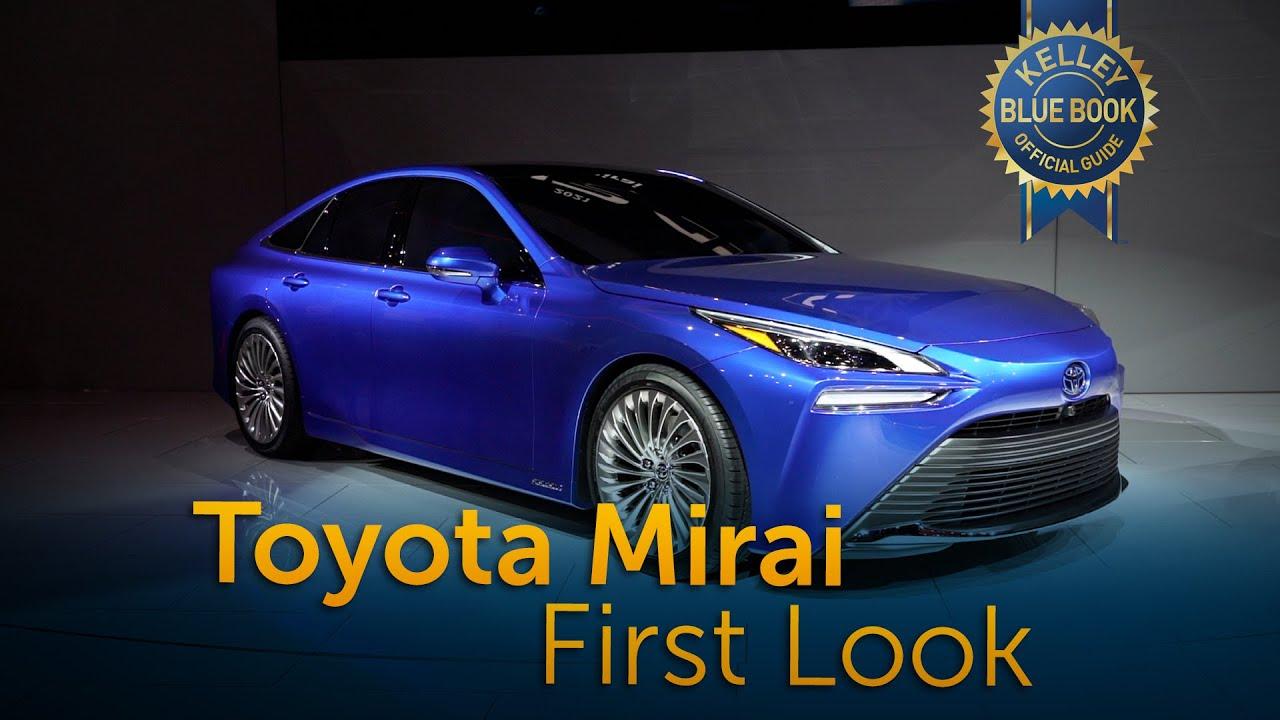 2021 Toyota Mirai First Look