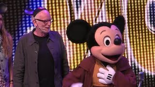 Ian McDiarmid (Emperor Palpatine), Amy Allen talks at Star Wars Weekends 2015, Walt Disney World