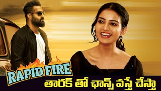 Rapid Fire With Actress Ananya Nagalla