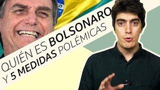 Quién es Bolsonaro y 5 medidas polémicas del presidente electo de Brasil