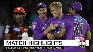 Hurricanes stay alive with triumph in see-saw thriller | KFC BBL|09