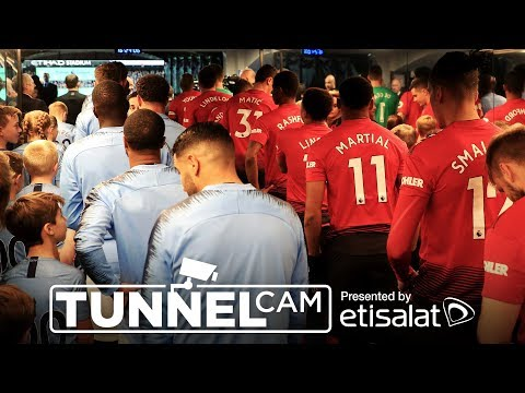 TUNNEL CAM   Manchester City 3-1 Manchester United