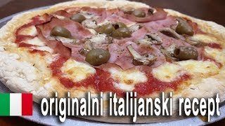 pizza capricciosa original italijanski recept
