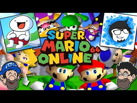 Super Mario 64 ONLINE with TheOdd1sOut and TheAMaazing!