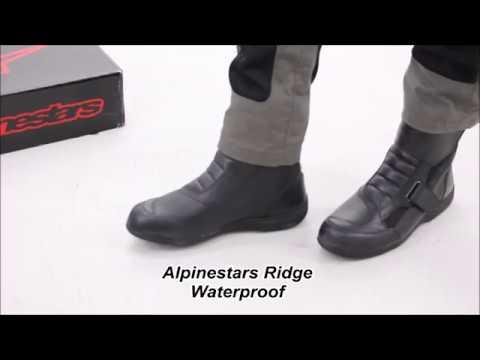 266aee957 Alpinestars Ridge Waterproof Boot Review - YouTube