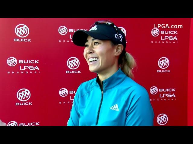 Danielle Kang Talks Second Round of the 2019 Buick LPGA Shanghai