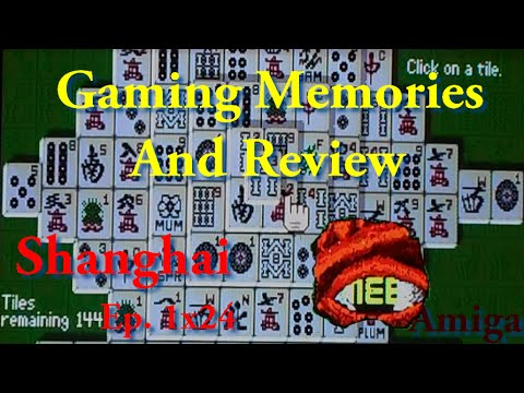 Shanghai - Amiga - Stygian Phoenix Shoutout! - Gaming Memories And Review