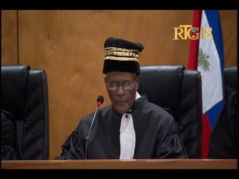 Haiti.- La Cour de Cassation ouvre la nouvelle année judiciaire 2017-2018