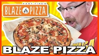 Blaze Pizza at George Bush Airport Texas (I found this Lost video!)