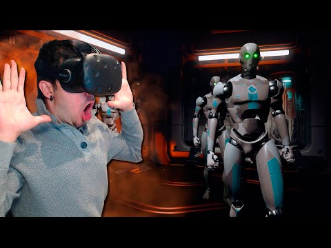 ANDROIDES CABREADOS!! | RAW DATA (HTC VIVE) REALIDAD VIRTUAL
