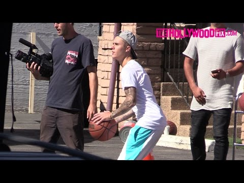 Justin Bieber Vs. Michael Rapaport: More Than A Game Complex Basketball Shoot 7.24.15