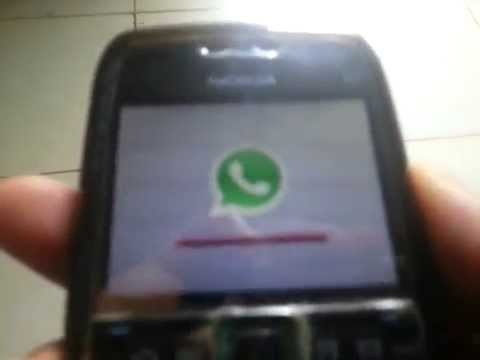 Nokia E71 / E72 whatsApp installation and Update