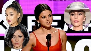 Celebs Support Selena Gomez Following Emotional AMA Speech