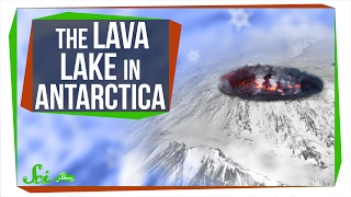 Weird Places: The Lava Lake in Antarctica
