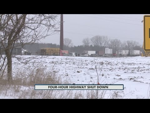 Interstate 39/90 shut down for four hours