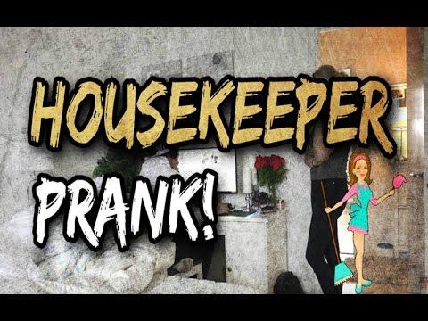 Housekeeper prank
