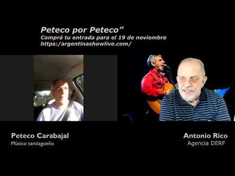 Peteco Carabajal presenta Peteco por Peteco por streaming