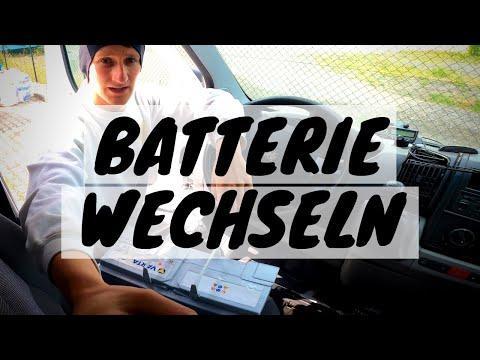 Starterbatterie wechseln -