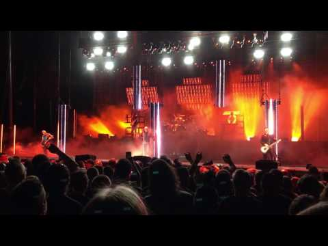 🔥 Rammstein  🔥 Full  Show 🔥@ Hollywood Casino Amphitheater, Chicago IL 🔥 6272017