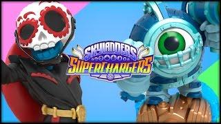 SKYLANDERS: SuperChargers Launch Figures Unboxing