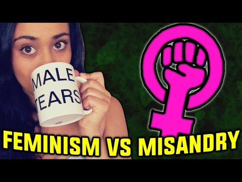 Feminism vs Misandry (Guest video by Venaloid)