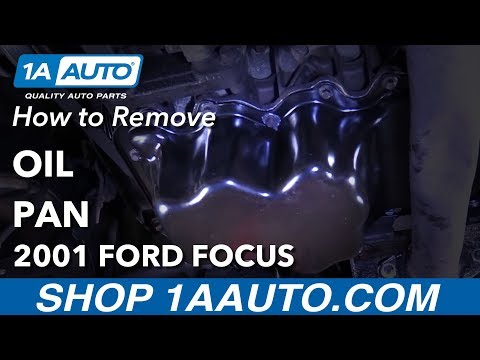 How to Replace Oil Pan 00-04 Ford Focus