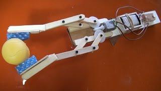 Brazo robótico mecánico fácil de hacer