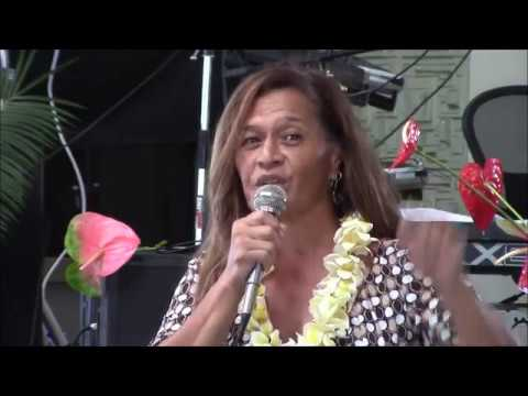 Terri Napeahi Speaks About the Keaukaha Action Network at the Democratic Party of Hawaii County  Fou