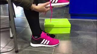 Adidas Lite Racer Neo Negro Fucsia Mujer Niña Privee Sport Youtube