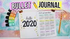 BULLET JOURNAL JANUAR FÜR ANFÄNGER 📒  BUJO Januar 2020 Deutsch -  Cali Kessy