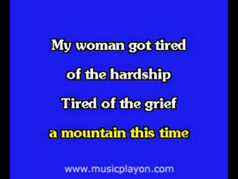 Elvis Presley karaoke  You Gave Me A Mountain