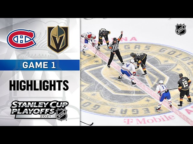 Semifinals, Gm 1: Canadiens @ Golden Knights 6/14/21 | NHL Highlights