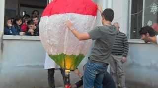 Primavera delle Scienze 2012 - Le mongolfiere