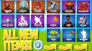 *ALL NEW* FORTNITE SKINS/ITEMS! - Fortnite LEAKED COSMETICS UPDATE!